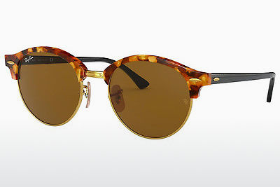 선글라스 Ray-Ban Clubround (RB4246 1160) - 갈색