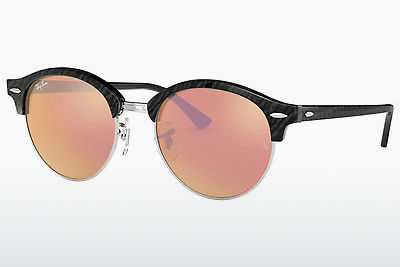 선글라스 Ray-Ban Clubround (RB4246 1197Z2) - 검은색