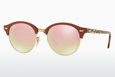 선글라스 Ray-Ban CLUBROUND (RB4246 12207O) - 금색
