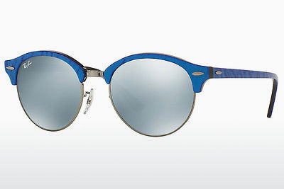 선글라스 Ray-Ban Clubround (RB4246 984/30) - 청색