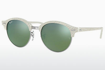 선글라스 Ray-Ban Clubround (RB4246 988/2X) - 흰색