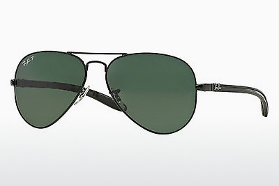 선글라스 Ray-Ban AVIATOR TM CARBON FIBRE (RB8307 002/N5) - 검은색