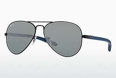 선글라스 Ray-Ban AVIATOR TM CARBON FIBRE (RB8307 006/40) - 검은색