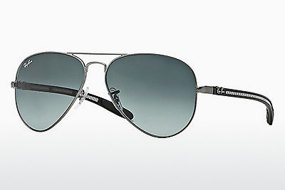 선글라스 Ray-Ban AVIATOR TM CARBON FIBRE (RB8307 029/71) - 회색, 포금