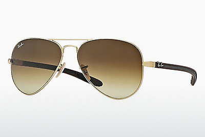 선글라스 Ray-Ban AVIATOR TM CARBON FIBRE (RB8307 112/85) - 금색