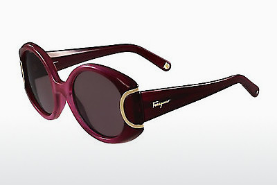 선글라스 Salvatore Ferragamo SF811S SIGNATURE 605 - 적색