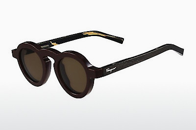 선글라스 Salvatore Ferragamo SF812S 604 - 갈색