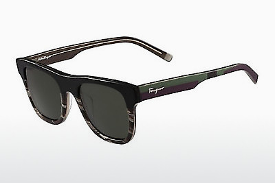 선글라스 Salvatore Ferragamo SF824S 004 - 검은색