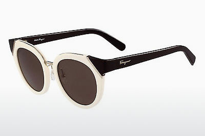 선글라스 Salvatore Ferragamo SF835S 101 - 흰색