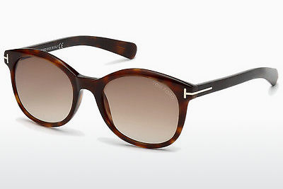 선글라스 Tom Ford Riley (FT0298 52F) - 갈색, Dark, Havana