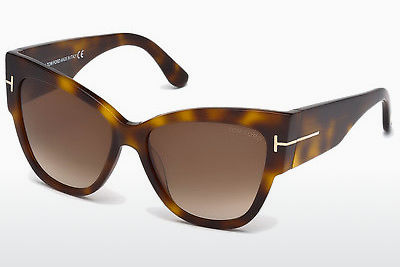 선글라스 Tom Ford Anoushka (FT0371 53F) - 하바나, Yellow, Blond, Brown