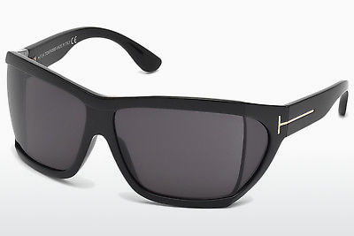 선글라스 Tom Ford Sedgewick (FT0402 01A) - 검은색, Shiny