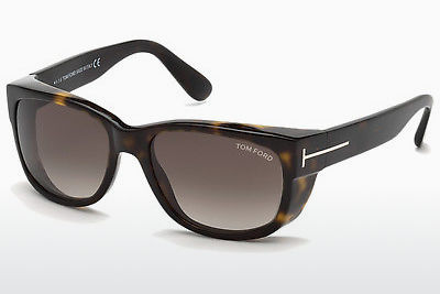 선글라스 Tom Ford Carson (FT0441 52K) - 갈색, Dark, Havana