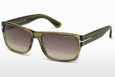 선글라스 Tom Ford Mason (FT0445 95K) - 녹색, Bright