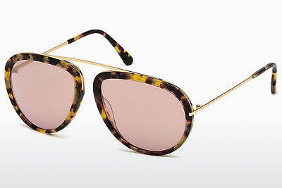 선글라스 Tom Ford Stacy (FT0452 53Z) - 하바나, Yellow, Blond, Brown
