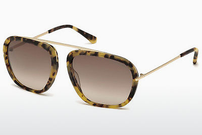 선글라스 Tom Ford Johnson (FT0453 53F) - 하바나, Yellow, Blond, Brown