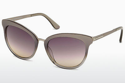 선글라스 Tom Ford FT0461 59B - 뿔, Beige, Brown