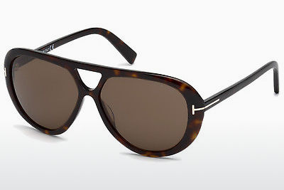 선글라스 Tom Ford Marley (FT0510 52J) - 갈색, Dark, Havana