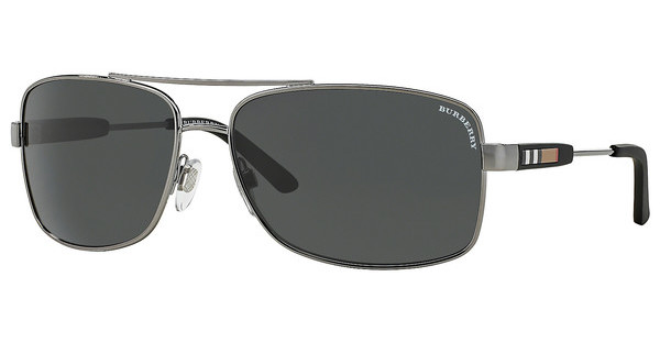 Burberry BE3074 100387 GRAYGUNMETAL