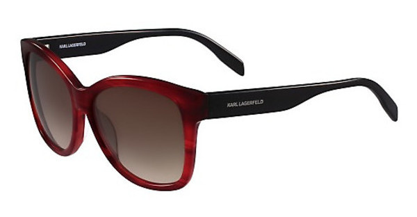 Karl Lagerfeld KL909S 133 RED STRIPED