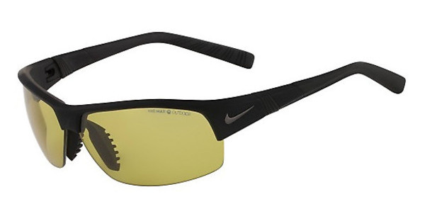 Nike SHOW X2 PH EV0672 003 MATTE BLACK WITH MAX TRANSITIONS OUTDOOR LENS
