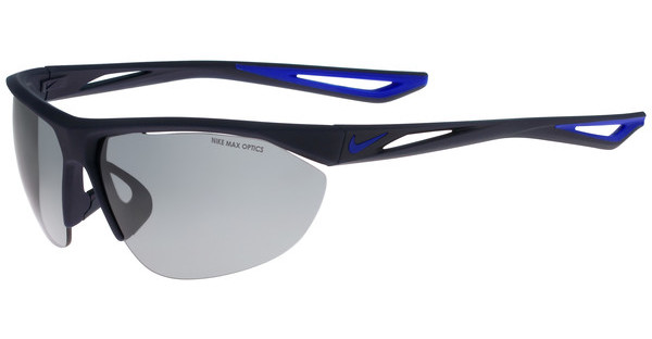Nike   TAILWIND SWIFT EV0916 440 MATTE OBSIDIAN/RACER BLUE WITH GREY W/ SILVER FLASH  LENS
