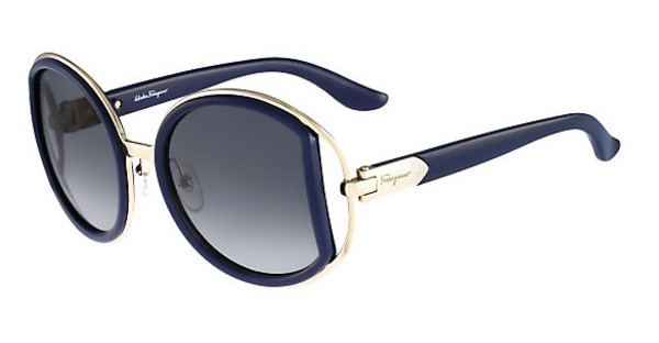 Salvatore Ferragamo SF719S 414 BLUE NAVY