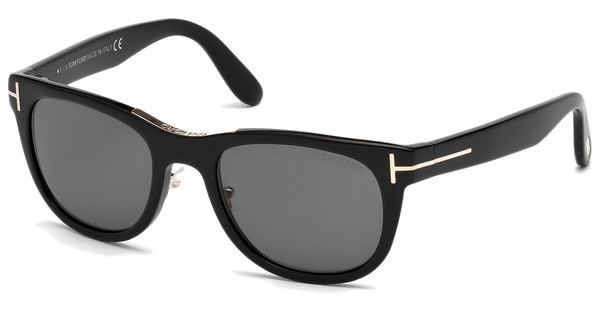 Tom Ford FT0045 01D grau polarisierendschwarz glanz