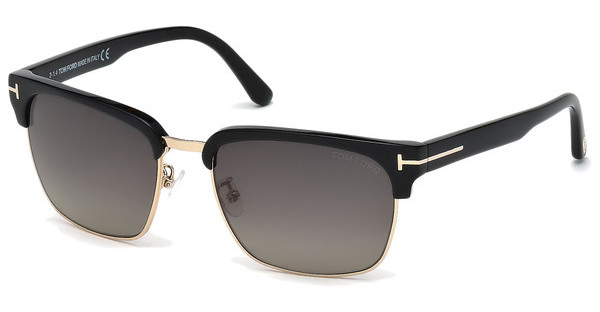 Tom Ford FT0367 01D grau polarisierendschwarz glanz