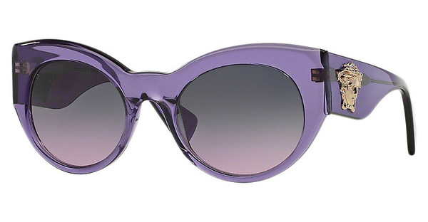 Versace VE4297 516090 LIGHT VIOLET GRADIENT GREYTRANSPARENT VIOLET
