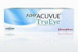 콘택트렌즈 Johnson & Johnson 1 DAY ACUVUE TruEye 1D4-90P-REV
