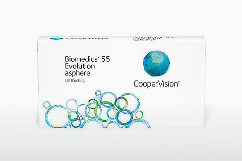 콘택트렌즈 Cooper Vision Biomedics 55 Evolution BMEU6