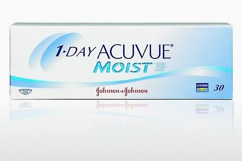 콘택트렌즈 Johnson & Johnson 1 DAY ACUVUE MOIST 1DM-90P-REV