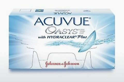 콘택트렌즈 Johnson & Johnson ACUVUE OASYS with HYDRACLEAR Plus PH-12P-REV