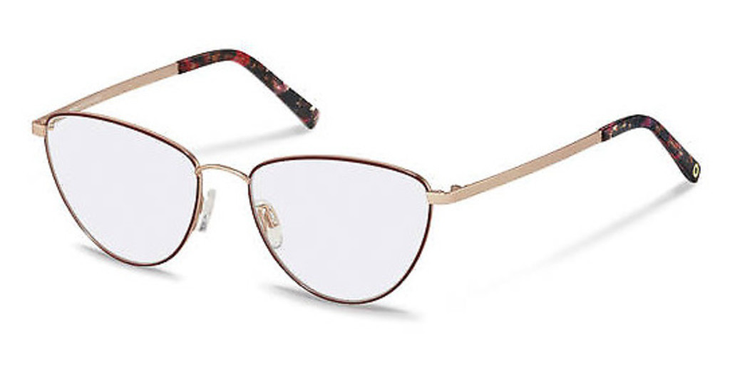 Rocco by Rodenstock   RR216 C dark red, rose gold