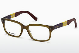 Eyewear Dsquared DQ5216 046 - 갈색, Bright, Matt