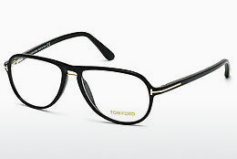 Eyewear Tom Ford FT5380 001 - 검은색, Shiny