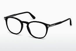 Eyewear Tom Ford FT5401 001 - 검은색, Shiny