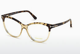 Eyewear Tom Ford FT5511 059 - 뿔, Beige, Brown