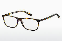 Eyewear Tommy Hilfiger TH 1452 A84 - 황색, 갈색, 하바나