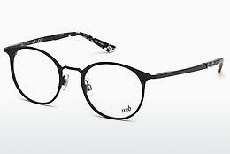 Eyewear Web Eyewear WE5242 001 - 검은색, Shiny
