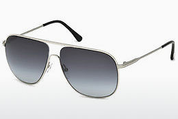 선글라스 Tom Ford Dominic (FT0451 16W) - 은색, Shiny, Grey