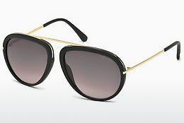 선글라스 Tom Ford Stacy (FT0452 02T) - 검은색, Matt