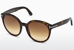선글라스 Tom Ford Philippa (FT0503 52F) - 갈색, Dark, Havana