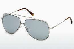 선글라스 Tom Ford FT0586 16A - 은색, Shiny, Grey