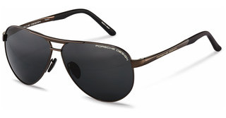 Porsche Design P8649 E grey 90%brown