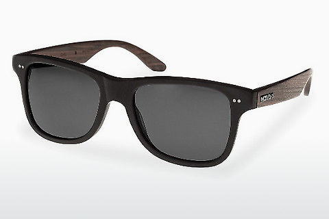 선글라스 Wood Fellas Lehel (10757 rosewood/black/grey)