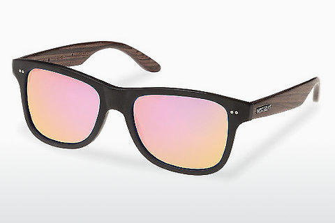 선글라스 Wood Fellas Lehel (10757 rosewood/black/rose)